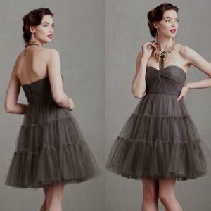 Anthro BHLDN Va Et Vien Tulle Party Dress 🌿